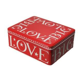 Big Love -suorakaiderasia punainen*