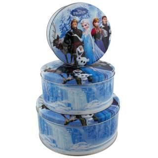 Disney Frozen -peltirasiat pyöreä 3-setti*