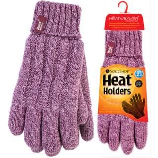 Heat Holders Lady sormikkaat lila M/L