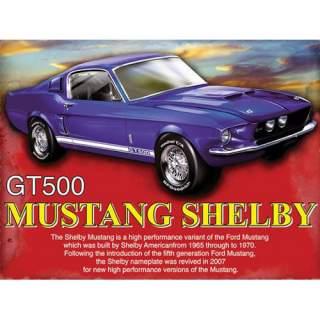 Mustang Selby -peltikyltti 40x30 cm