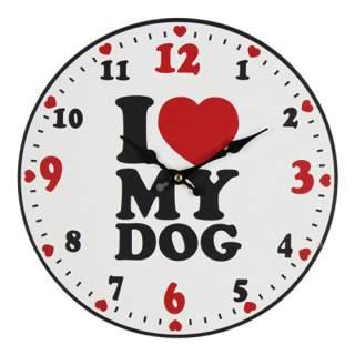 Seinäkello - I Love My Dog*