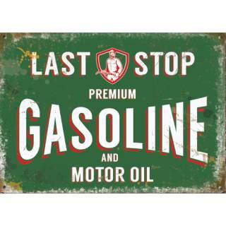 Gasoline -peltikyltti 40x30 cm