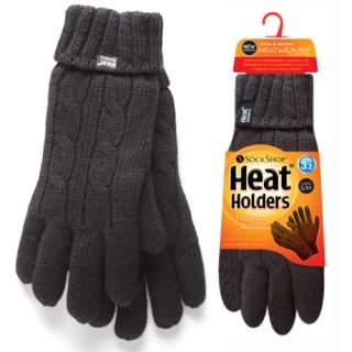 Heat Holders Lady sormikkaat musta S/M