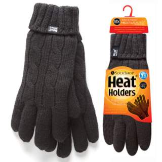 Heat Holders Lady sormikkaat musta M/L