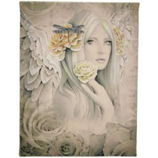 Kukkaiskaunotar -canvastaulu 19 x 25 cm