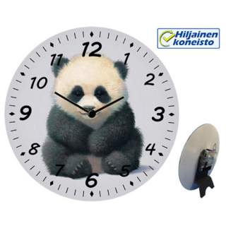 Seinä-/pöytäkello - Pyry-Panda