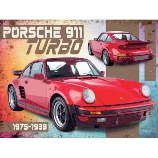 Porsche 911 -peltikyltti 40x30 cm