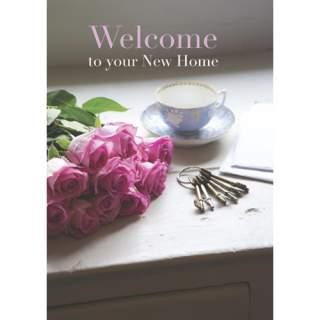 Welcome -tupaantuliaiskortti