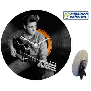 Seinä-/pöytäkello - Elvis ja kitara