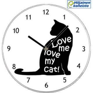 Seinäkello - Love me  - Cat