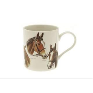 Hevosen päät  -muki