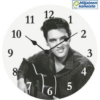 Seinäkello - Elvis ja kitara