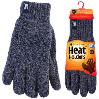 Heat Holders Men sormikkaat siniharmaa L/XL