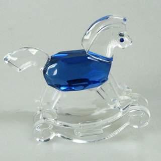 Kristallikeinuhevonen sininen