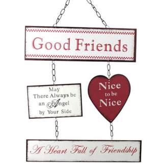 Seinäkyltti Good Friends*