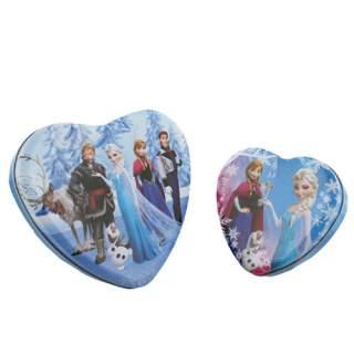 Disney Frozen sydänpeltirasiat 2-setti*