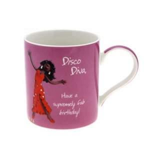 Synttärimuki Disco Diva Birthday*