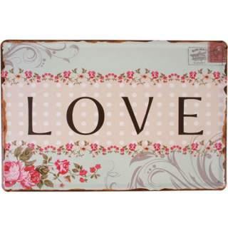 Love -seinäkyltti*