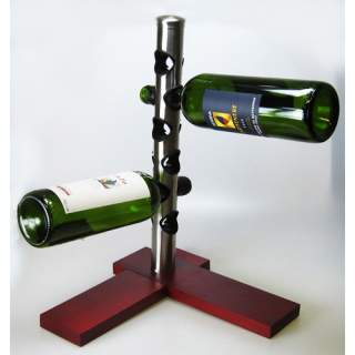 Viinipulloteline-pystytanko 6 pulloa*