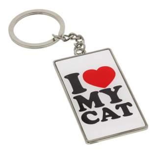 I Love My Cat -avaimenperä*