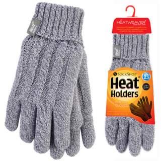 Heat Holders Lady sormikkaat harmaa S/M