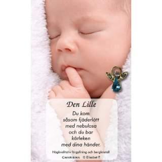 Den lille -pins blå