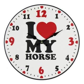 Seinäkello - I Love My Horse*