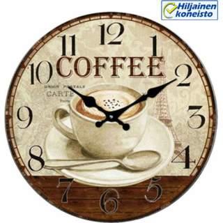 Seinäkello - Coffee